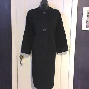 Godchaux's Jackets & Coats - Vintage Godchaux's Black Cashmere Coat